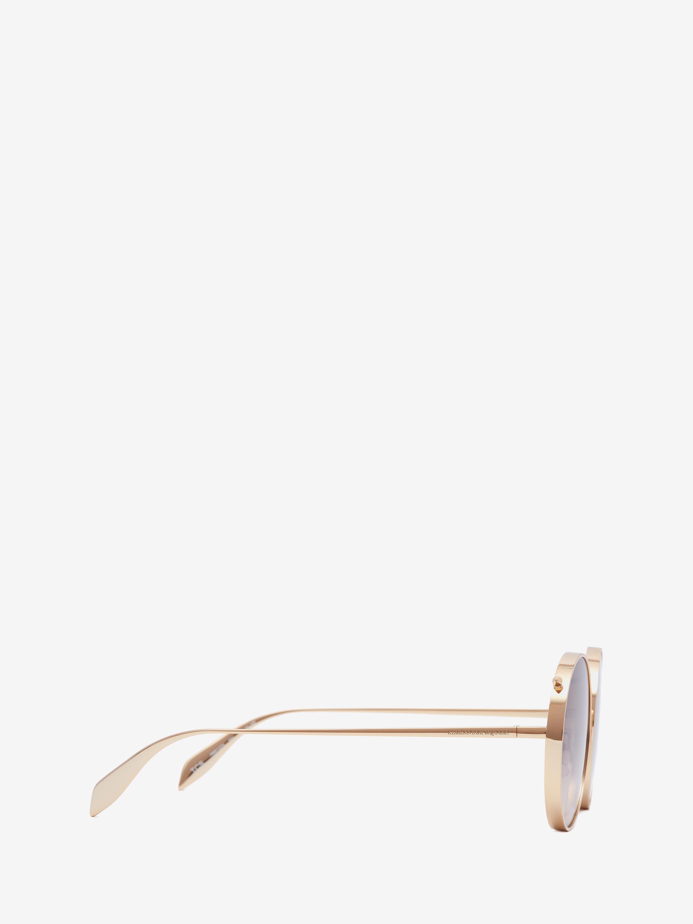 fed4b79bc6cf Alexander McQueen Metal Piercing Frame at £295   love the brands